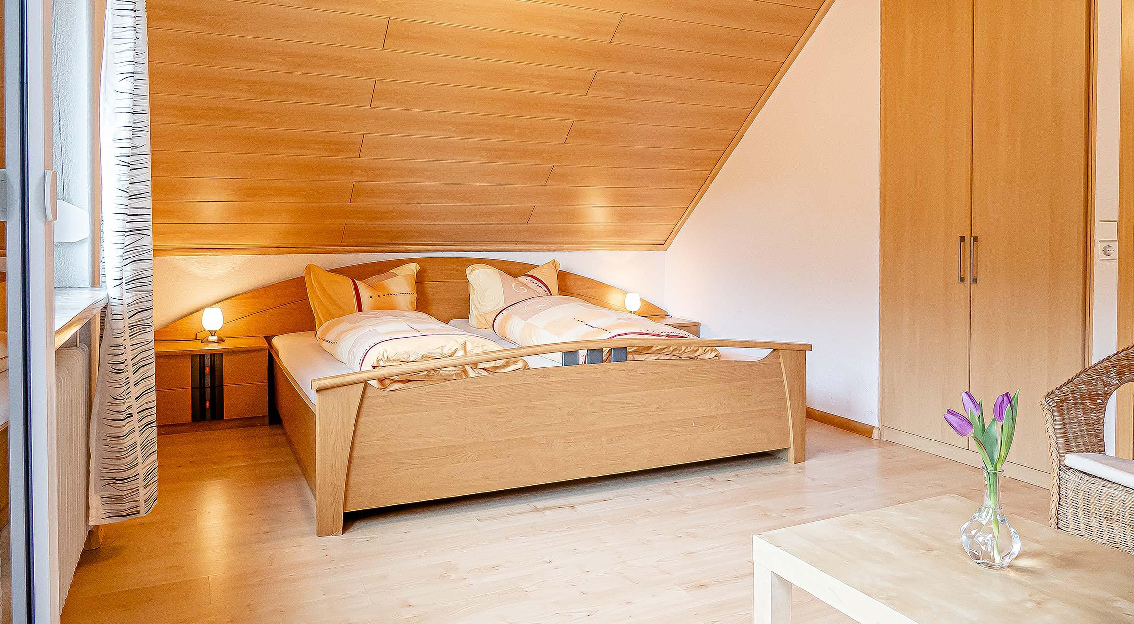 Wohnungstyp I - Schlafzimmer