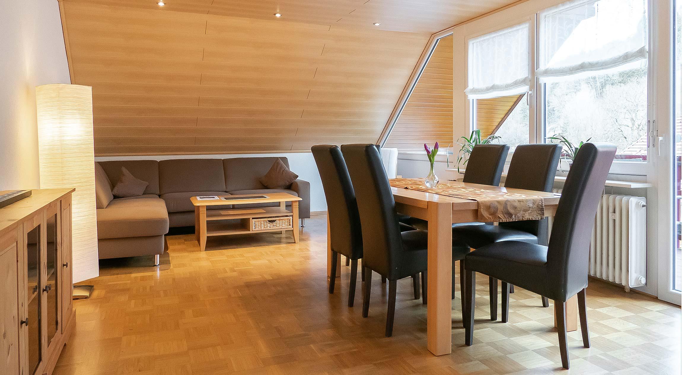 Wohnungstyp I - Wohnzimmer
