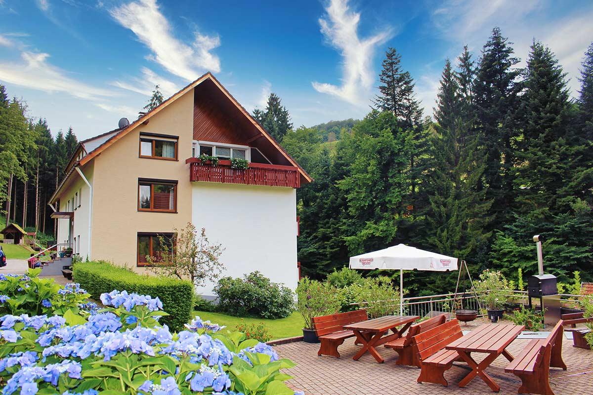 Ferienhaus mit Grillplatz