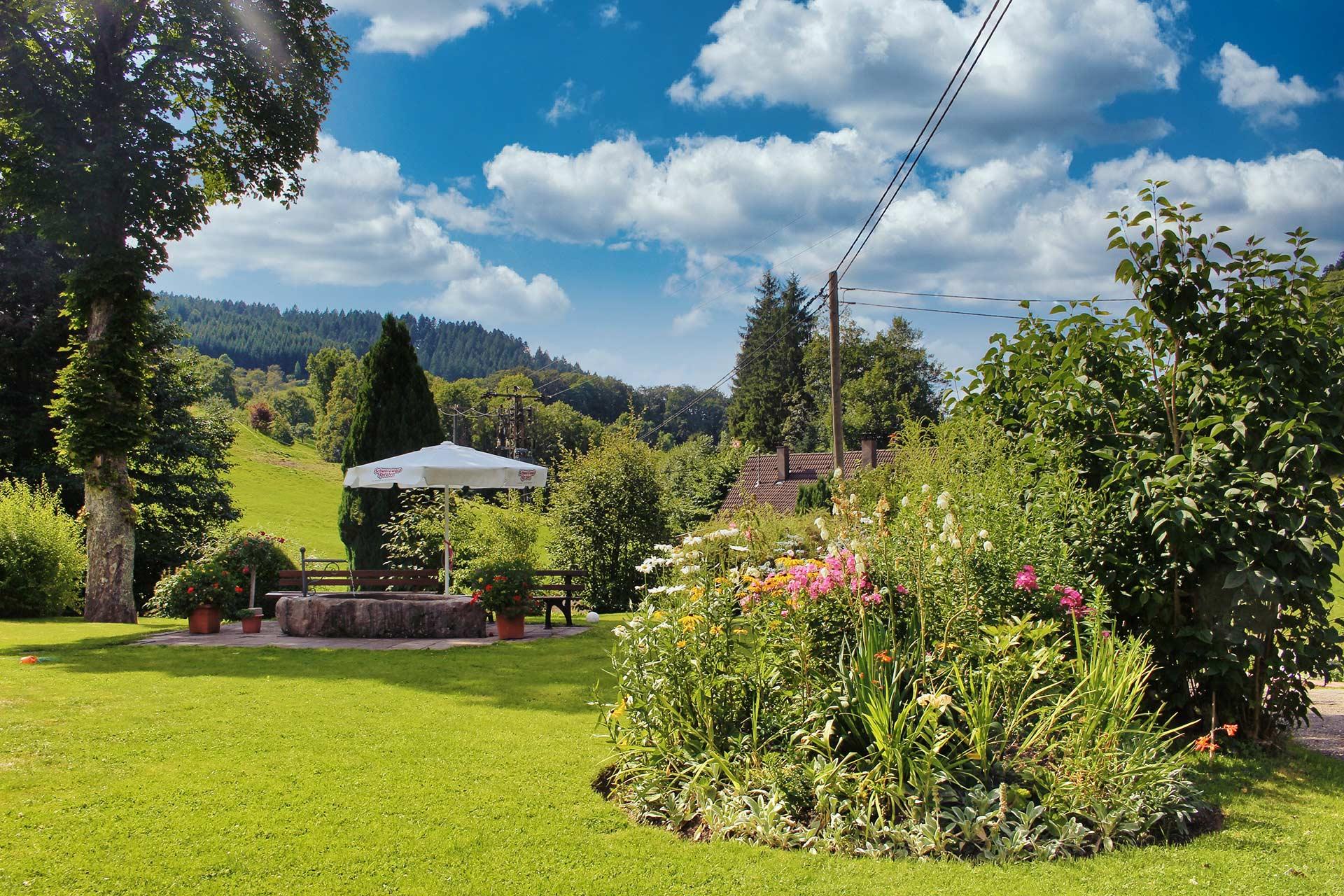 Der Hoferpeterhof Garten für unsere Gäste