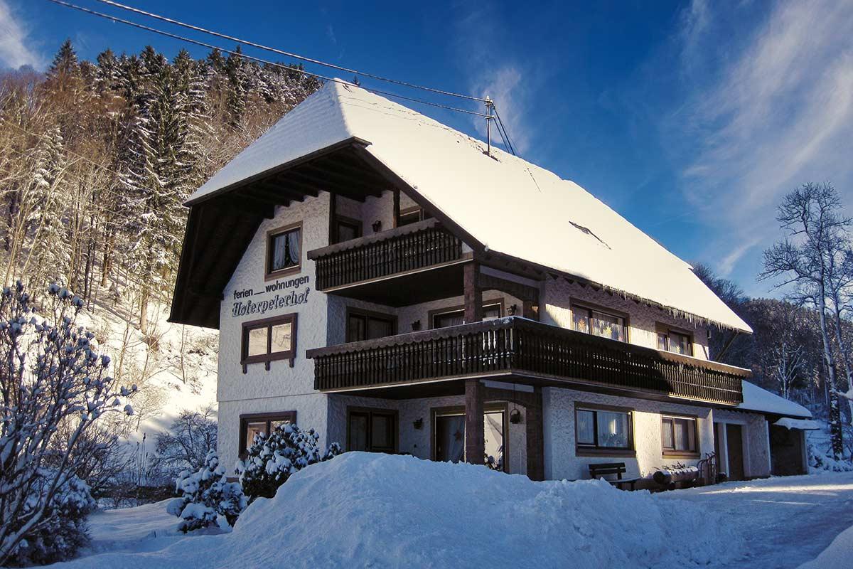 Leibgedinghaus im Winter