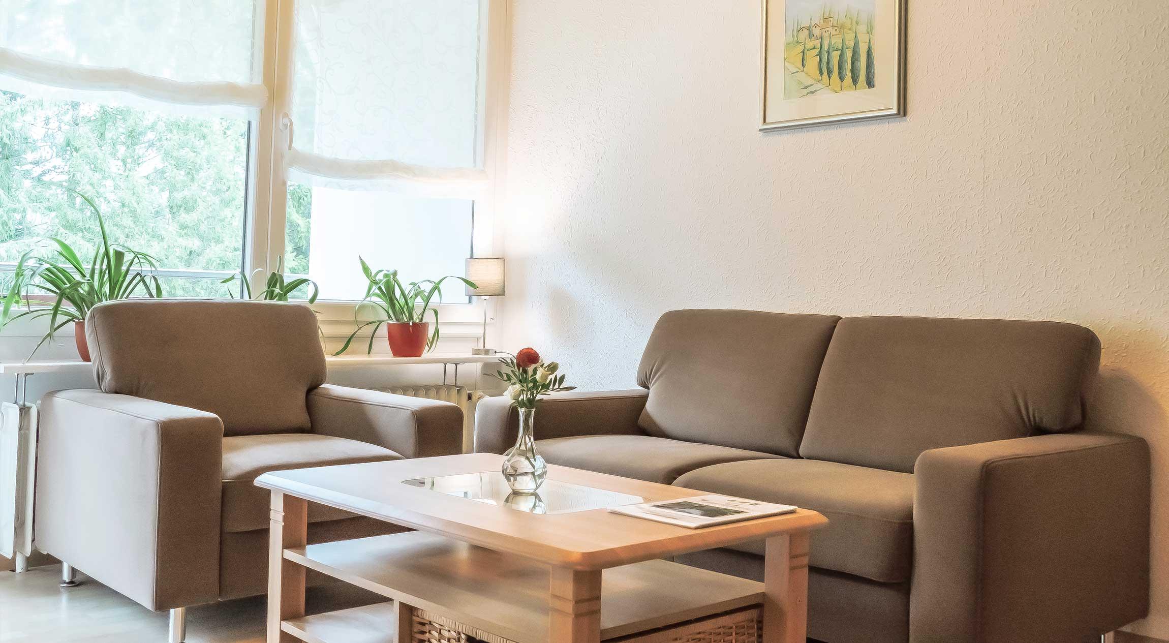 Wohnungstyp III - Wohnzimmer