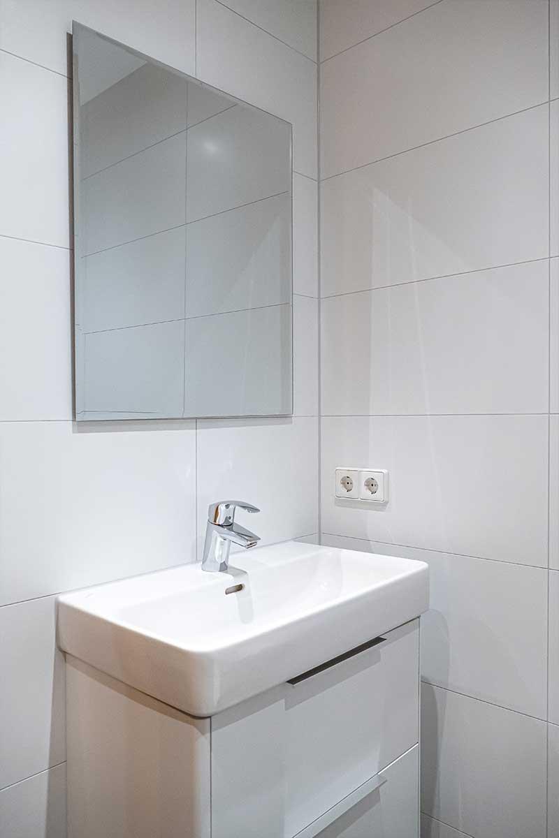 Wohnungstyp III - Waschplatz
