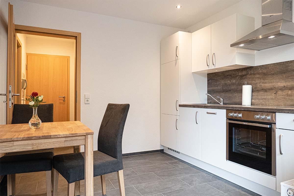 Wohnungstyp III - Küche & Flur
